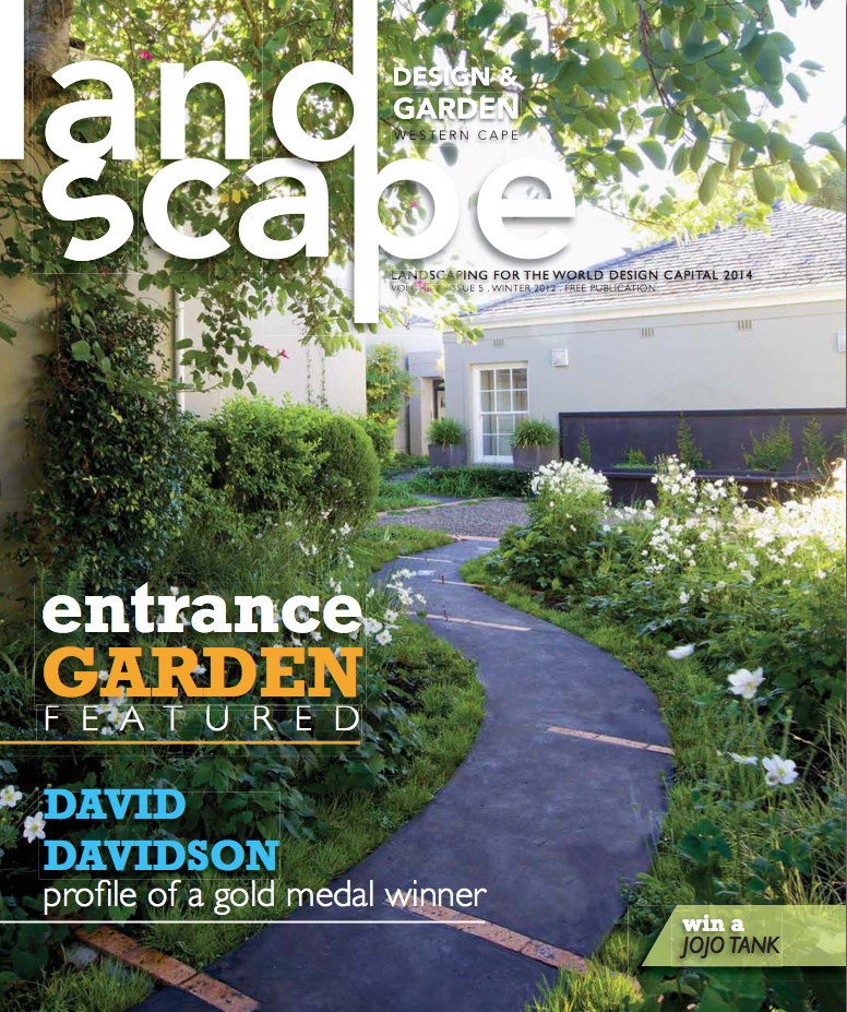 Landscape design garden magazine western cape for Garten design magazin