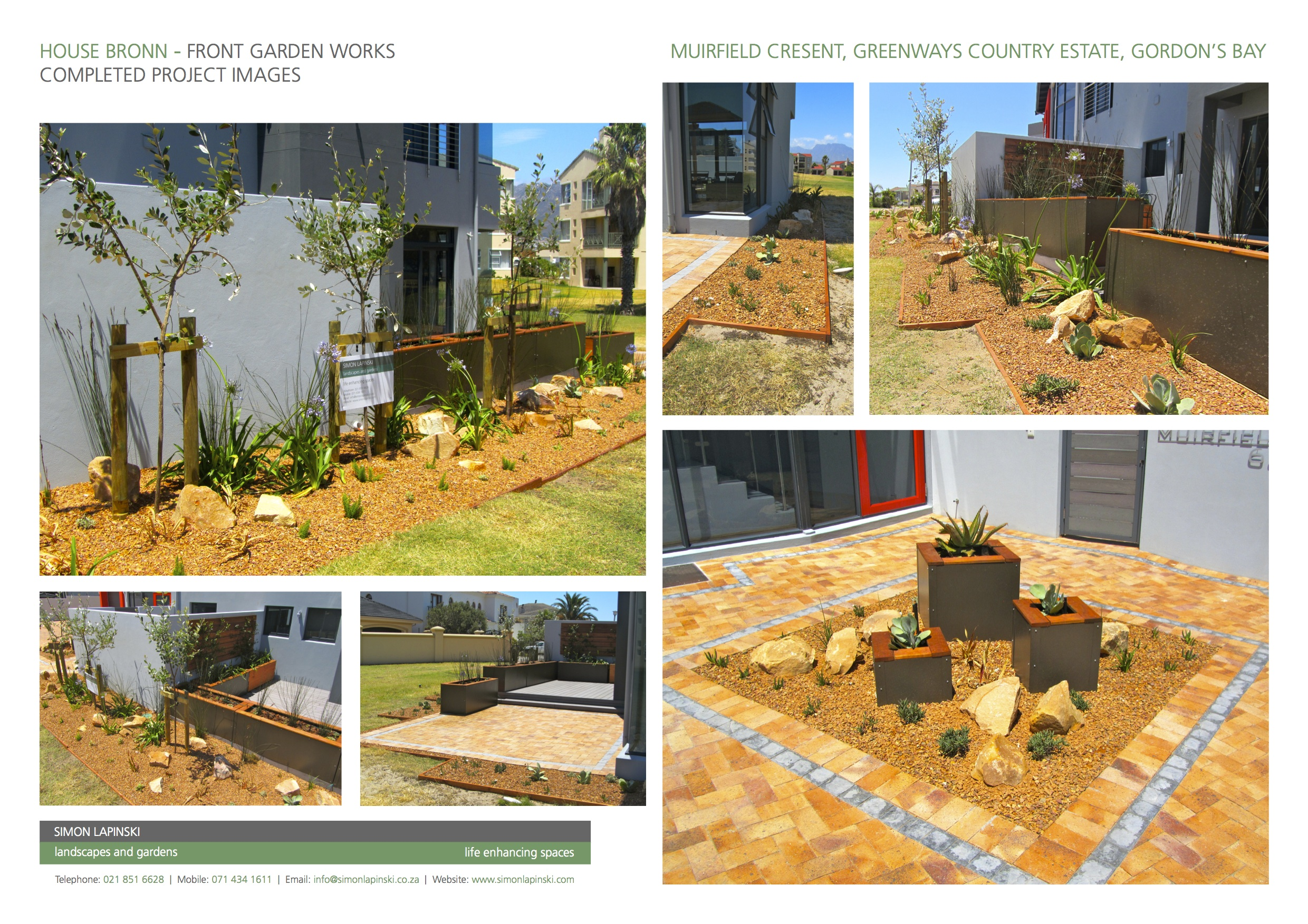 South african coastal gardens landscapeislapinski for Garden designs in south africa