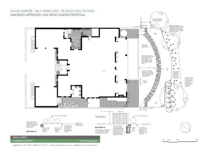 Amended Rear Garden Proposal