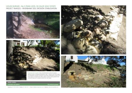 Embankment Soil Erosion Stabilisation Works