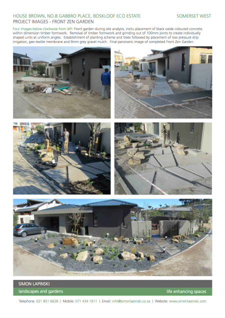 Front Garden Project images