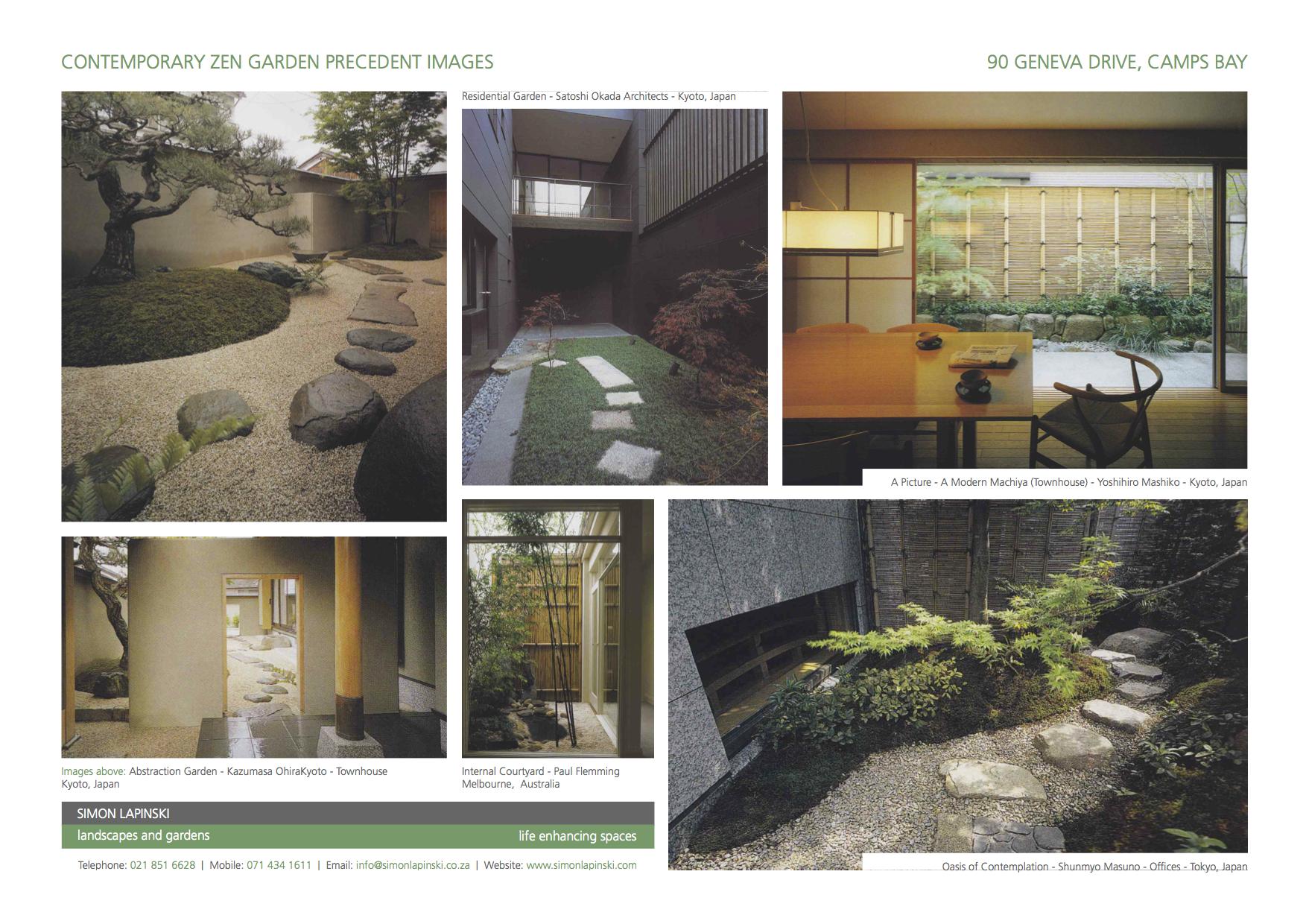 House Lazarus Landscape Sketch Proposals Camps Bay Cape Town