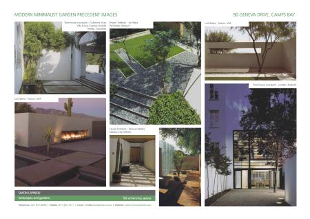 Minimalist Garden Precedent Images