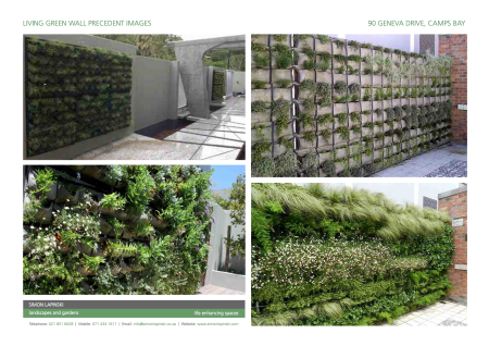 Living Wall Precedent Images