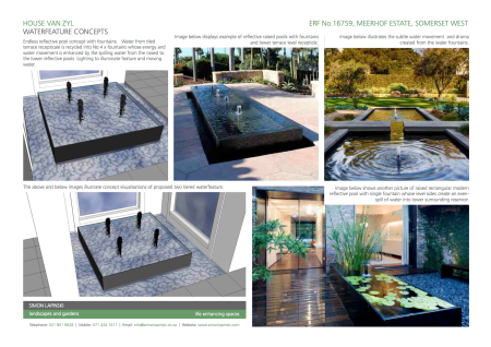 Waterfeature Concepts