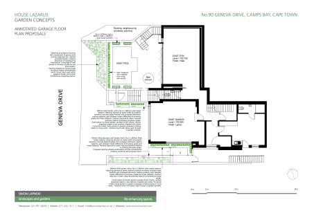 Ground Floor Landscape Proposals