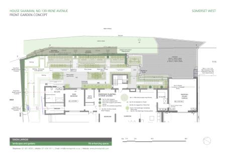 Front Garden Concept Plan